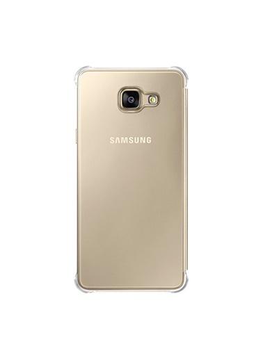Samsung Samsung A710F Galaxy A7 (2016) Uyumlu Orjinal Clear View Cover  Telefon Kılıfı Renkli